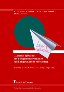 """Leichte Sprache"" Sammelband Cover"